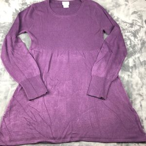 Motherhood Purple size Medium Sweater Tunic